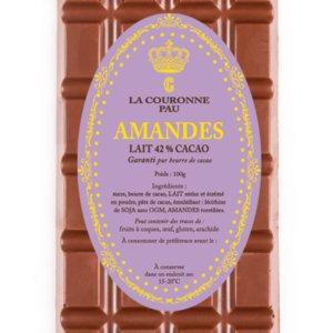 tablette lait amandes