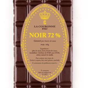 tablette noir 72%