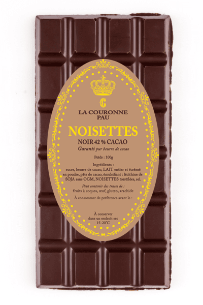 tablette noir noisette