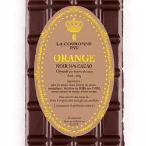 tablette noir orange