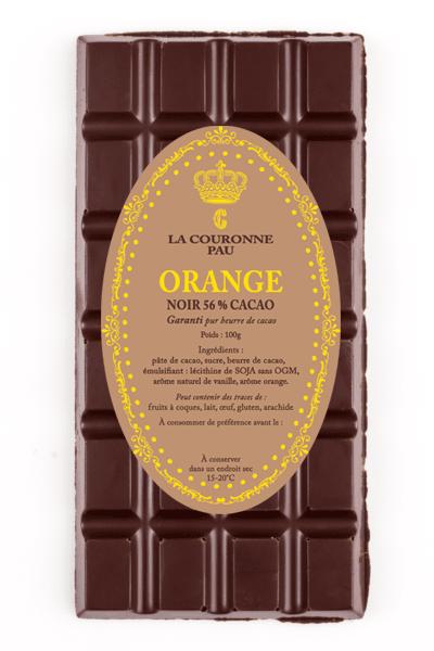 tablette noir orange